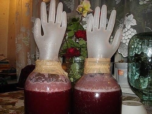 Виноградное вино приготовить дома
