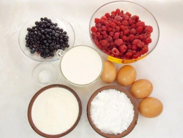 Домашнее мороженое. Сливочный пломбир с ягодами