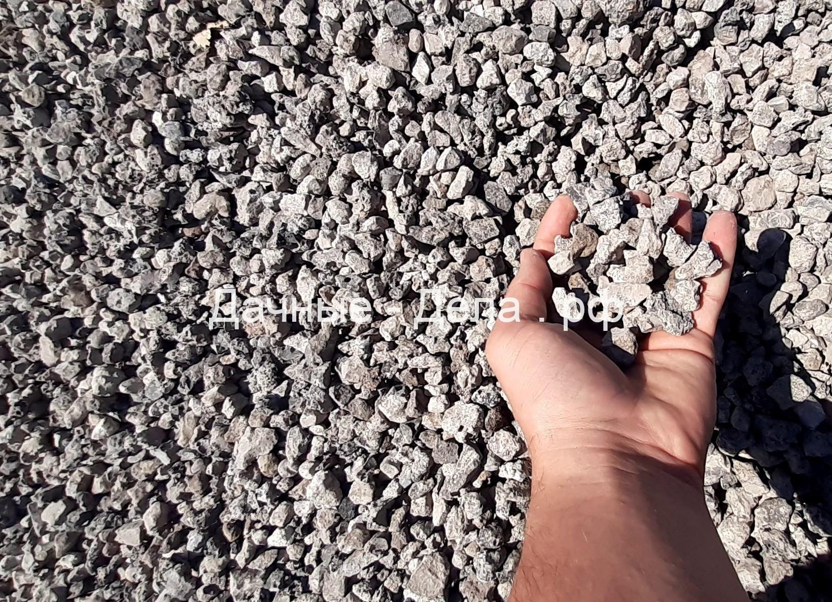 Использование щебня в строительной отрасли
