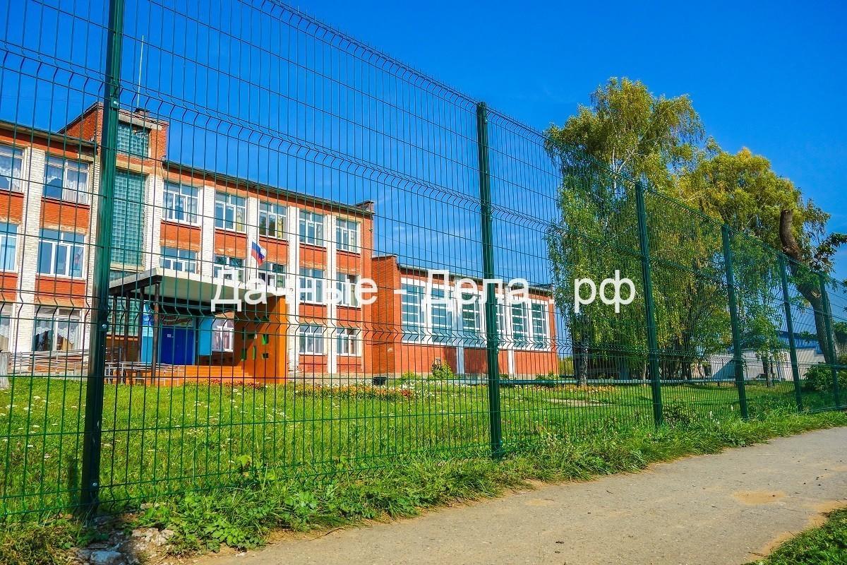 Заборы для школ в Уфе и других учреждений из 3D панелей