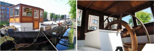Дома на воде в Амстердаме, что там и как внутри