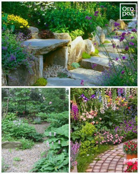 6 секретов живописной садовой дорожки