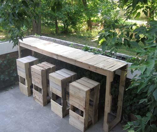 Мебель из поддонов своими руками: недорого и стильно