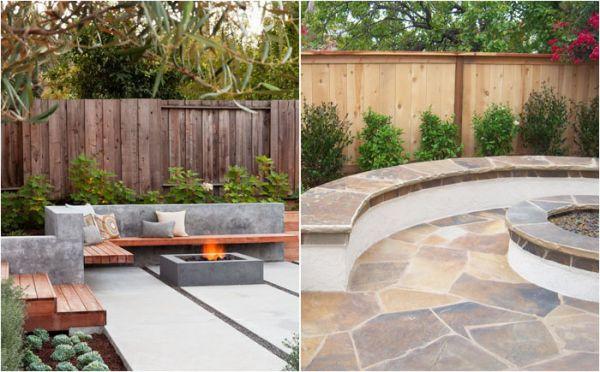 Организация внутреннего дворика: 10 прекрасных способов установки встроенных скамеек