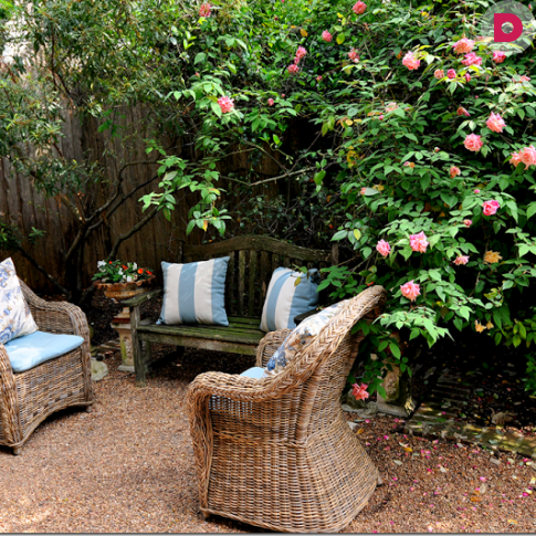 Как превратить дачный участок в английский сад