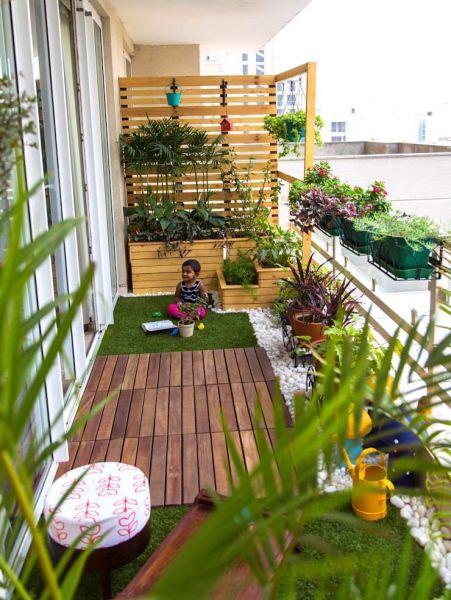 Интересные идеи оформления балкона