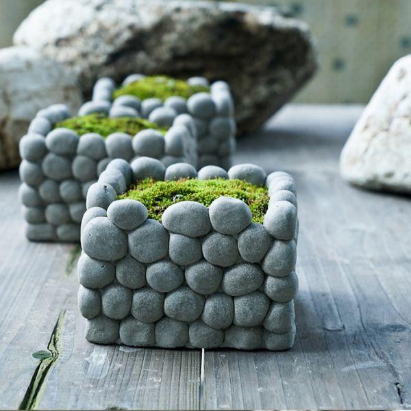 Цветы из камня своими руками
